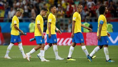 المنتخب البرازيلي بمونديال روسيا 2018
