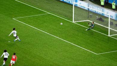 صورة مصر تسجل أول هدف بالمونديال.. وتغادر