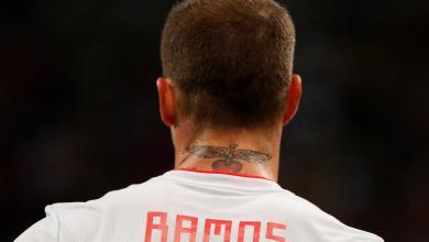 سيرجيو راموس قائد اسبانيا ومدافع ريال مدريد