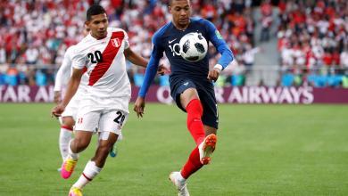 لقاء فرنسا والبيرو في مونديال روسيا 2018