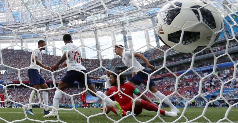 المنتخب الإنجليزي ضد المنتخب البنمي بمونديال روسيا 2018