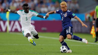 المنتخب الياباني ضد المنتخب السنغالي بمونديال روسيا 2018