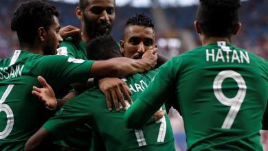 المنتخب السعودي بمونديال روسيا 2018
