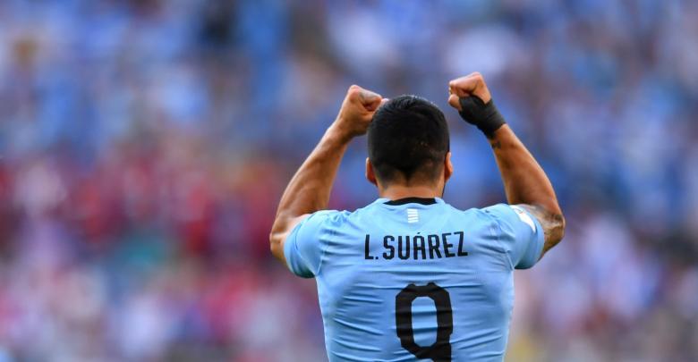 المنتخب الأوروغواي ضد المنتخب الروسي في مونديال روسيا 2018