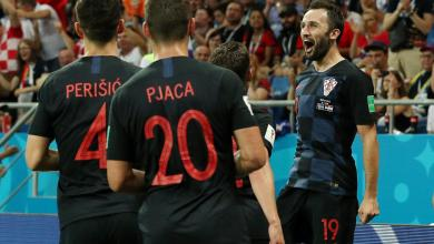 المنتخب الكرواتي ضد المنتخب الأيسلندي بمونديال روسيا 2018
