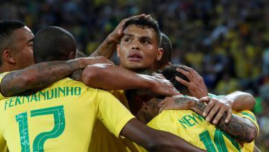 المنتخب البرازيلي ضد المنتخب الصربي بمونديال روسيا 2018