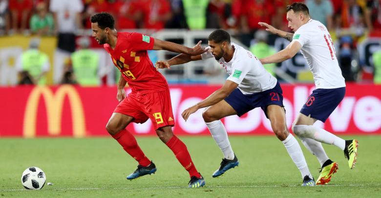 المنتخب البلجيكي ضد المنتخب الإنجليزي بمونديال روسيا 2018