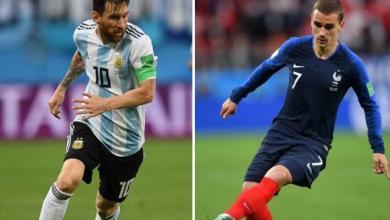 الأرجنتين و فرنسا