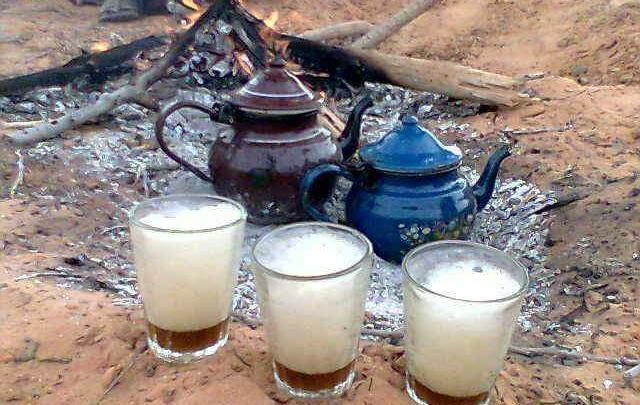 الشاي الليبي