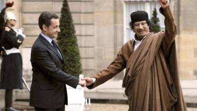 صورة دعوى لنقض إدانة ساركوزي بتمويل القذافي