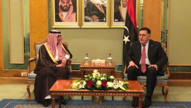 فائز السراج والملك سلمان بن عبد العزيز