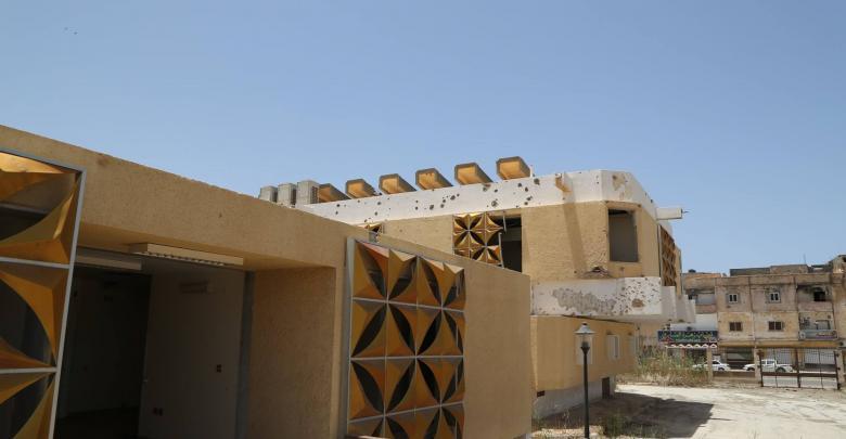 إعادة إعمار عيادة الصابري المُجمعة بمدينة بنغازي