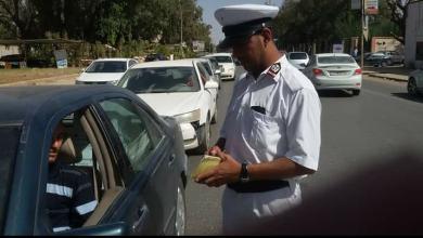 Photo of أمن بنغازي يتوعد سائقي المركبات المخالفة