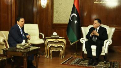 فائز السراج مع وزير الخارجية التونسي