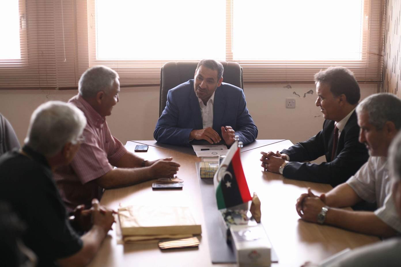 وزارة التعليم بالحكومة المؤقتة بمدينة درنة