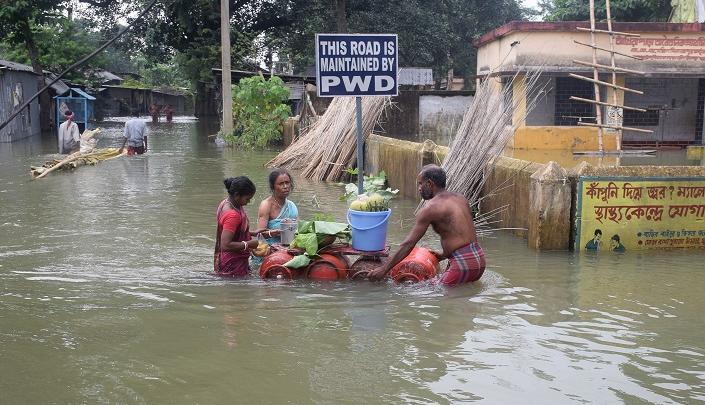 فيضانات جنوب آسيا