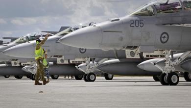 صورة عدد استثنائي للغارات الأميركية على ليبيا
