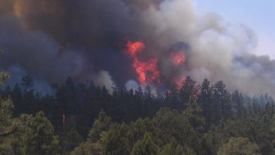 Photo of حريقهائل في نيو مكسيكو الأميركية