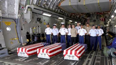 رفات الجنود الأميركيين من الحرب الكورية