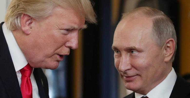 الرئيس الأميركي دونالد ترامب ونظيره الروسي فلاديمير بوتين