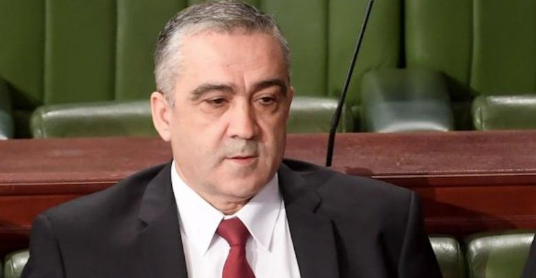 وزير الداخلية التونسي لطفي براهم