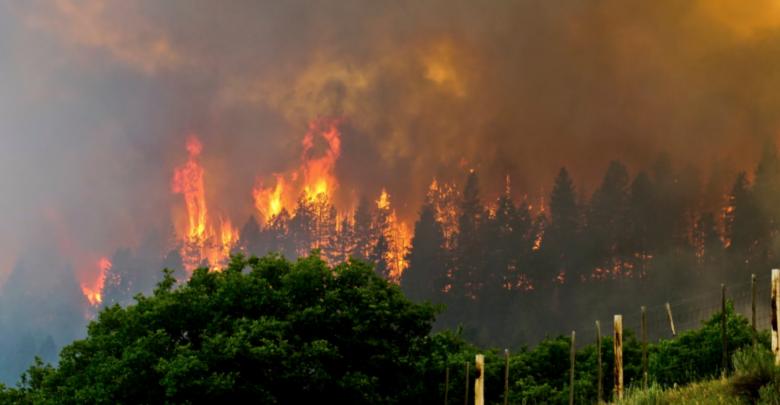 حريق كولورادو الأميركية