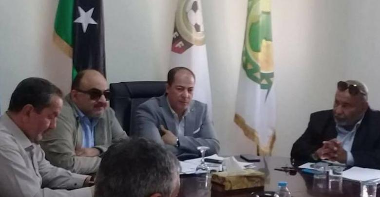 الإدارة الفنية بالاتحاد الليبي لكرة القدم