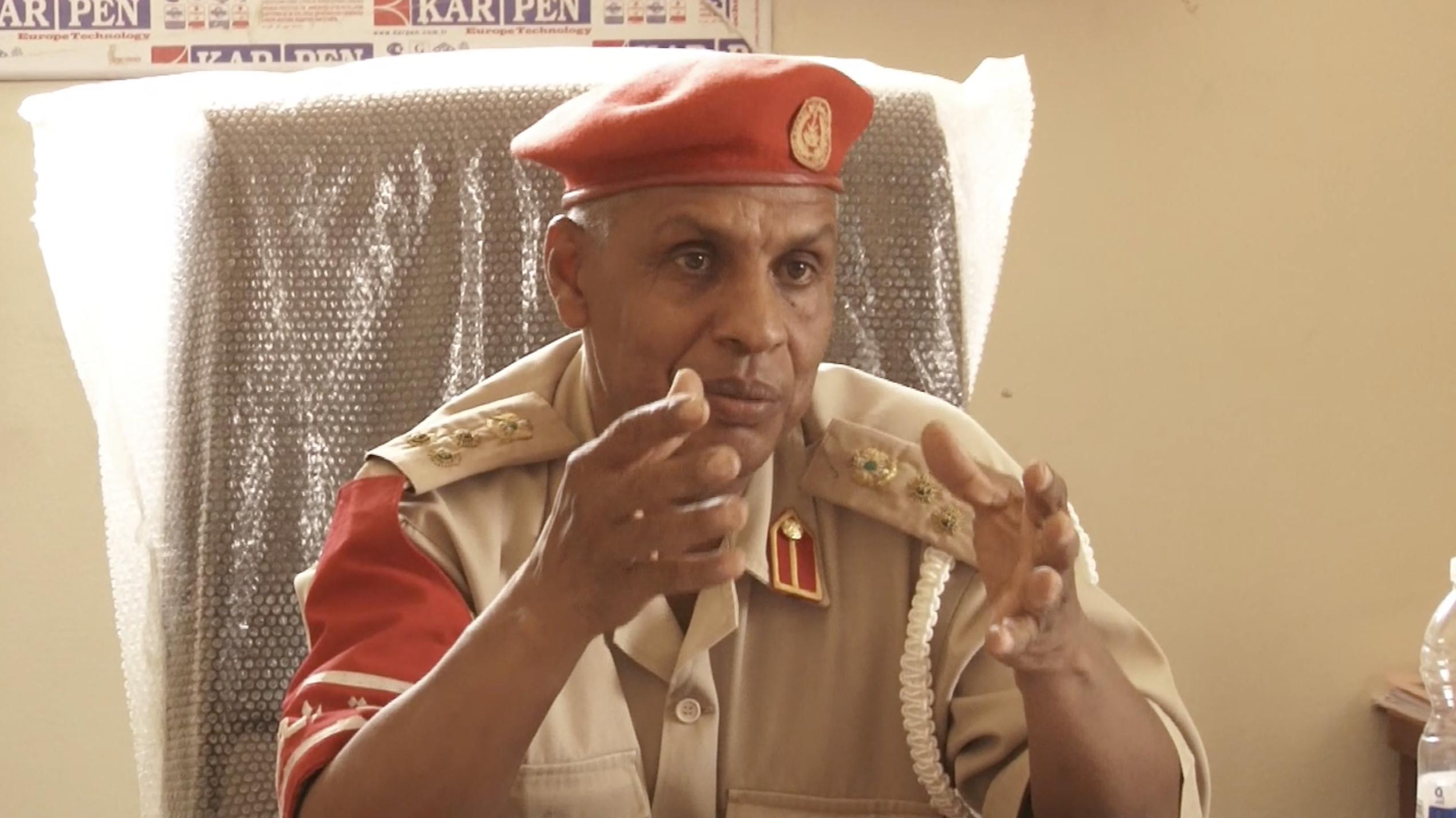 عميد محمود جابر بالشرطة العسكرية تراغن