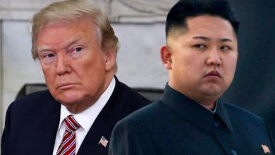 الرئيس الأميركي دونالد ترامب و زعيم كوريا الشمالية كيم جونج أون