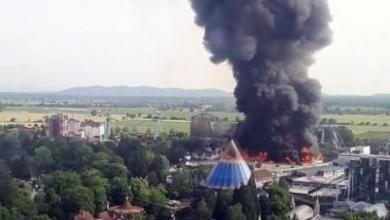 Photo of النار تلتهم أحد أشهر الجامعات البريطانية