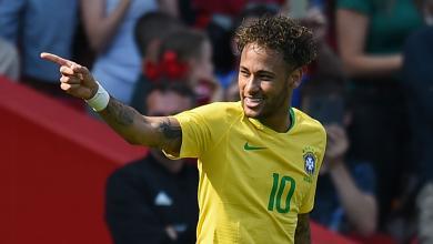 اللاعب البرازيلي نيمار دا سيلفا