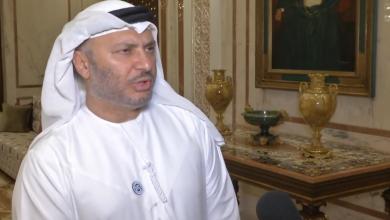 وزير الدولة الإماراتي للشؤون الخارجية أنور بن محمد قرقاش