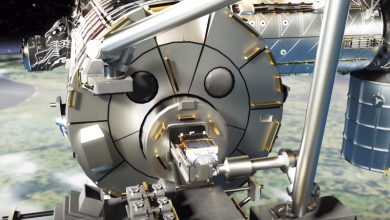 صورة ناسا تطلق أضخم أقمارها لتنظيف الفضاء