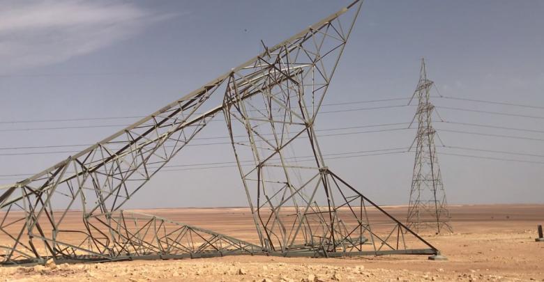 أبراج الكهرباء