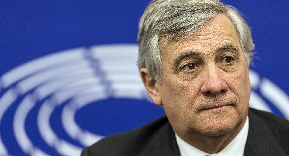 أنطونيو تاياني رئيس البرلمان الأوروبي