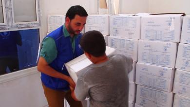 Photo of صناديق أغذية لـ750 أسرة في سرت
