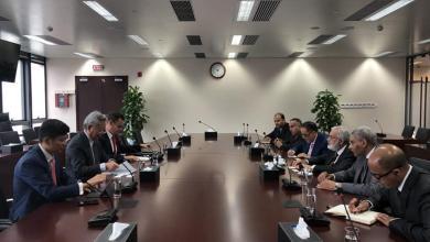 اجتماع محمد سيالة مع رئيس البنك الآسيوي