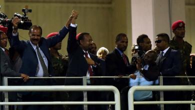 رئيس الوزراء الإثيوبي أبي أحمد والرئيس الإريتري أسياس أفورقي