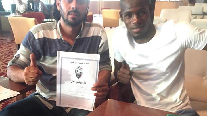 لاعب الأخضر الجديد يوسف فزان