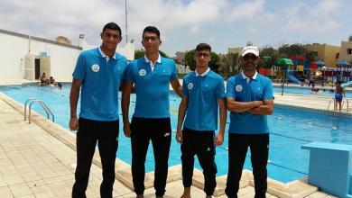 المنتخب الوطني للسباحة