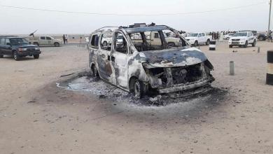 هجوم إرهابي على مركز شرطة العقيلة