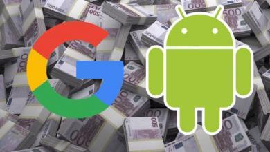 شركة جوجل ونظام الاندرويد