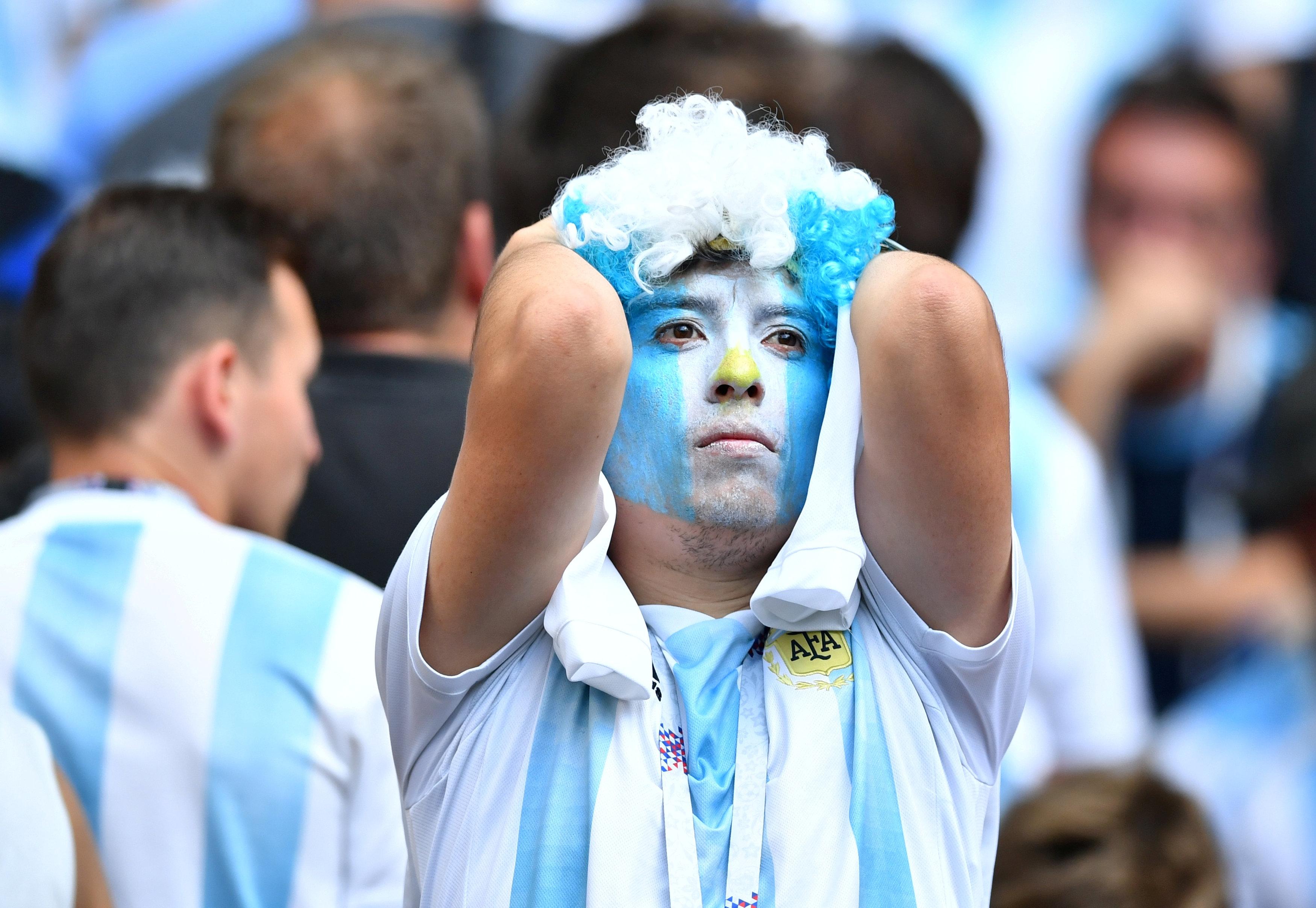 مشجعي الأرجنتين