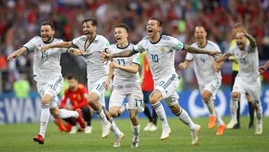 صورة روسيا تقصي إسبانيا بمونديال سقوط الكبار