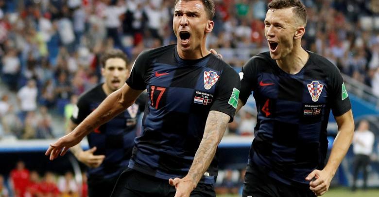 المنتخب كرواتي بمونديال روسيا 2018