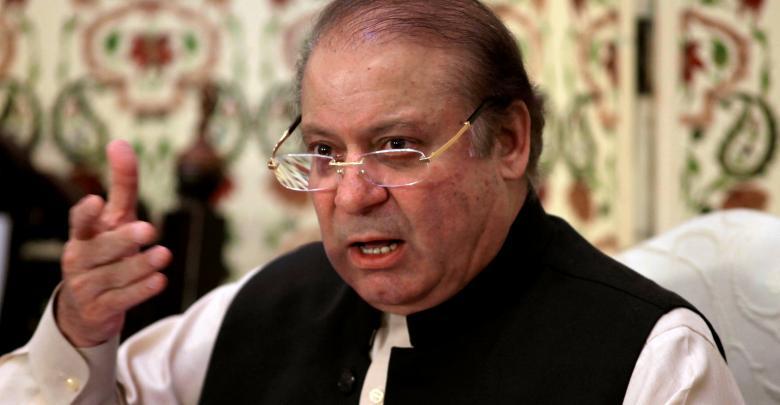 رئيس الوزراء الباكستاني السابق نواز شريف