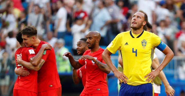 منتخب انجلترا و السويد