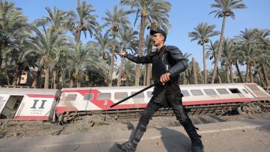 خروج القطار عن مساره المُحدد - مصر