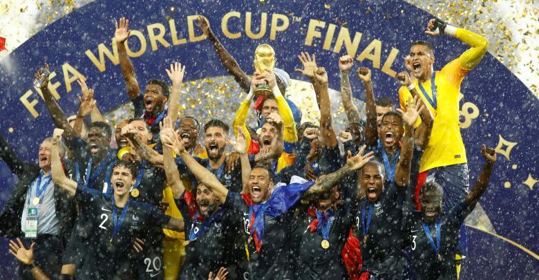 فوز المنتخب الفرنسي بمونديال روسيا 2018