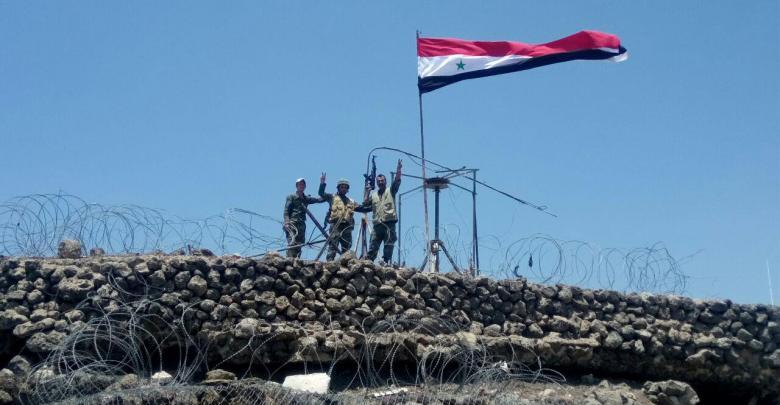 الجيش السوري القنيطرة - سوريا